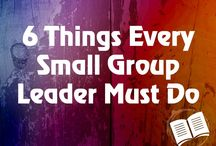Small Groups / For small group sessions & dsicipling