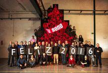 Felices Fiestas / ¡El equipo de Sono te desea unas #FelicesFiestas! Felicitaciones corporativas de Sono