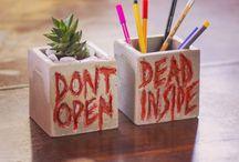 Objetos de decoração - DIY/ Faça você mesmo / Objetos fofos pra você reproduzir aí na sua casa
