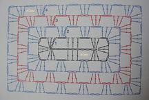 individuales crochet