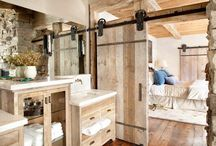 Bathroom Design Ideas / As it says / by Brittany Vogt