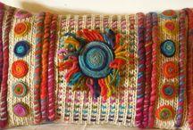 cojines / coussins de tricoter