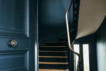 Couloir-escalier