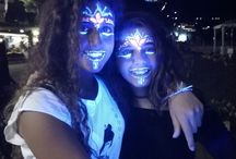 glow party / neon party