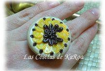 KaRoa Designs. Sweet Sweet Collection. / Piezas muy dulces realizadas a mano con diferentes materiales y mucho love.