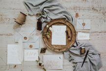 The Fanatic Calligrapher wedding stationery