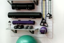 Get Fit at Home / Ideas to get fit from home - a low cost and convenient way to workout without having to go to the gym
