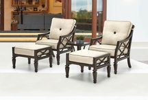 Chaise Your Worries Away / Relax on a chaise lounge and chase your worries away!