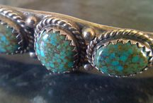 Native American Sterling and Turquoise