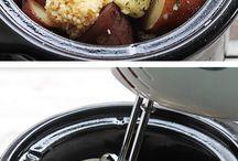 Slow cooker vegan food