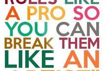 Artistic Quotes