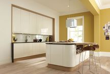 Handleless Kitchens / Handleless Kitchens available in various colours and matt/gloss finish from Steven James Kitchens Ltd.