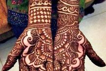 Exquisite Mehndi Designs / #Mehndi is derived from the Sanskrit word 'mendhikā'. The use of mehndi and turmeric is described in the earliest Hindu Vedic ritual books. It was originally used for only women's palms and sometimes for men, but as time progressed, it was more natural for women to wear it. Haldi aka turmeric (staining oneself with turmeric paste) as well as mehndi are Vedic customs, intended to be a symbolic representation of the outer and the inner sun.  #Indian #Culture #Tradition #Beauty #Fashion
