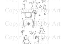 Christmas Releases / As we missed the Launch of Christmas on Create and Craft we have decided to do our own Mini Release 1st July 2015 / by Hobby Art Stamps
