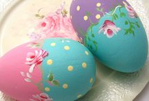 Ceramic eggs