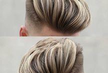 Undercut Men Haircolour