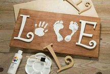 Foot print crafts