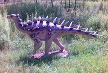 Odwiedzamy Bałtów k. Kielc - podziwiamy dinozaury