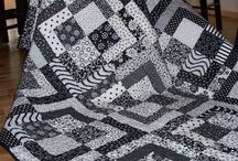 Monochrome and Black and White Quilts