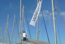 Our sailing marina base, Alimos marina / Here is where the yachts starting your dream sailing holidays.
