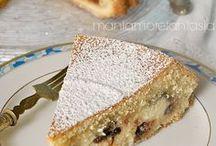 torta con crema di ricotta