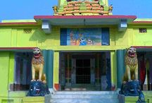 Maa Patana Mangala Temple, Bhadrak / It is believed that the King of Lanka, mighty Ravana brought the goddess Lankeswari from Lanka to Bhadrak as he had an army base in Bhadrak. Bhadrak is often described as Paschima Lanka or Swarnapuri Lanka or dwitiya Lanka or Bhadrak. This is further evidence that Bhadrak is a strong hold of Tantric and Shakti culture.As this area belonged to Dakshina Kosala Kingdom,evidences are there in Ramayana that Ravana used to attack this part frequently.