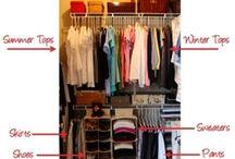 Closet Organization / by Rachael Musser