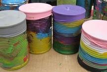 drums waste bins