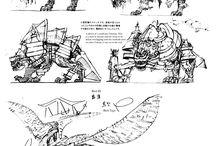 Concept / Концепт арт; разработка и дизайн персонажей/окружения/и т.д.