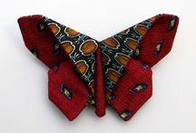 tie butterflies