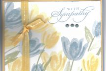 Sympathy card's
