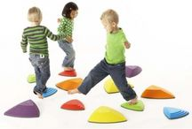 Active Play / You can find active play items for balance and coordination, sand and water, PE equipment and gross motor skills.