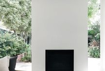Fireplaces / with a natural and simple beauty.