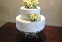 Wedding Cakes / My first project...dummy cake