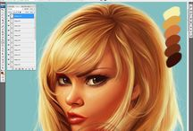 Digital Painting / Digital painting tips, tools and tutorials