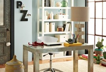 H O M E  O F F I C E / Working at  home in style.... / by Lourdes B