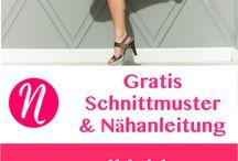 kostenlose Schnittmuster/Kleidung / Schnittmuster für Kleider, Röcke, Hosen, Blusen und Co. für Erwachsene, alle kostenlos