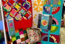 Wonderful Designs using Kona Fabrics!
