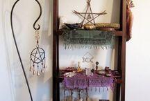 Pagan home altar