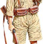 Vojenské uniformy F