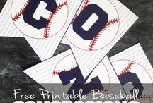 base ball party ideas
