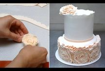 Cake decorating technics