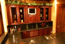 Bar Area Cabinet Designs / bars, pub areas wet bars cabinet designs available through Asheville Custom Cabinetry