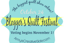 Blogger's Quilt Festival / Quilts from the ongoing online festival that I want to share with all of you! / by Amy Ellis