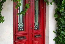 Portes d'entrée principal