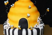 Bumble Bee Party Theme Ideas / Creative, fun & fab Ideas for your bumble bee party celebration! #beeparty #beepartyideas / by Seshalyn's Party Ideas
