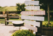 Wedding Signs / Important on the big day!