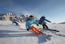 Dolomiti Winter / Le Dolomiti d' inverno The Dolomites in Winter Time Die Dolomiten im Winter Season