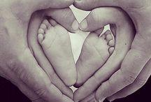 Gravid och Bebis fotografering