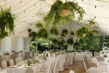 Green wedding Poland - wedding decorations
